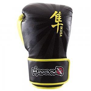 Ikusa Gloves Color: Black/Yellow
